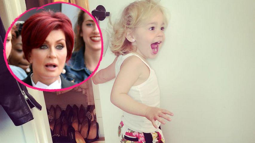 Kleine Lady ganz groß: Pearl Osbourne wühlt in Omas Schrank