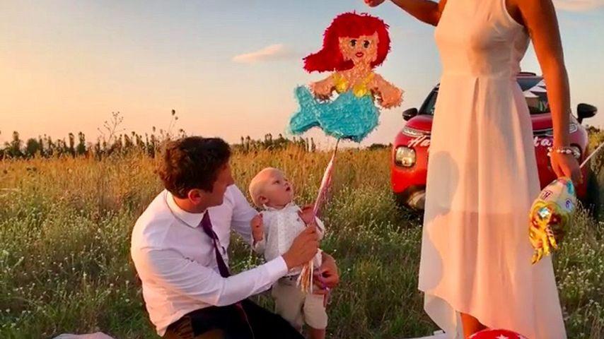 Süßer B-Day-Clip: Für Emil-Ocean gab es eine Arielle-Piñata!
