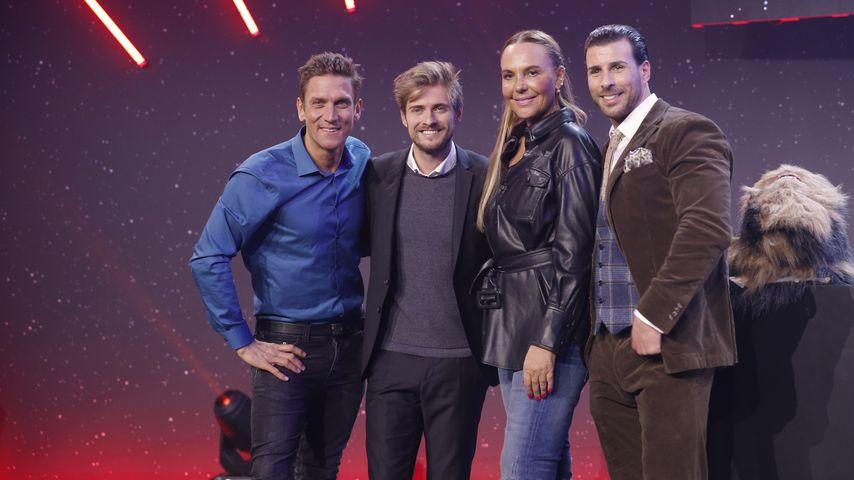 TV-Stars Peer Kusmagk, Jörn Schlönvoigt, Natascha Ochsenknecht und Lenoard Freier