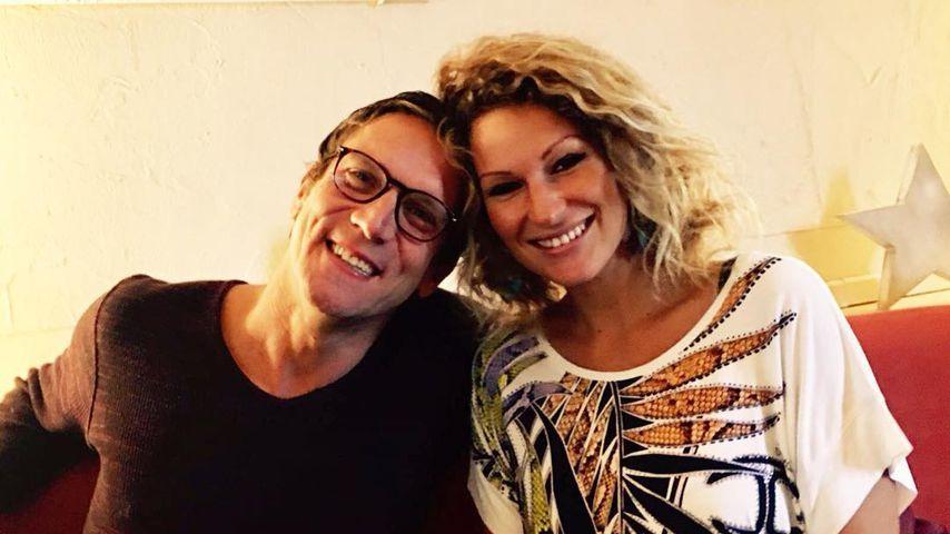 Peer Kusmagk und Janni Hönscheid am Müggelsee