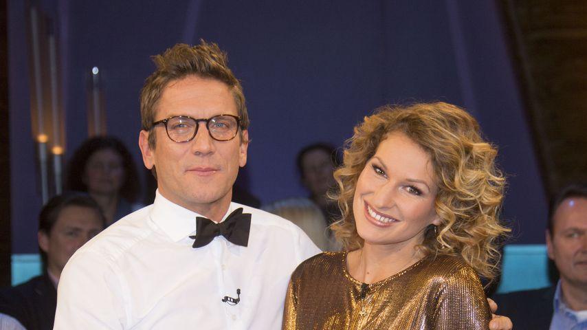 """Peer Kusmagk und Janni Hönscheid in der """"NDR Talk Show"""""""