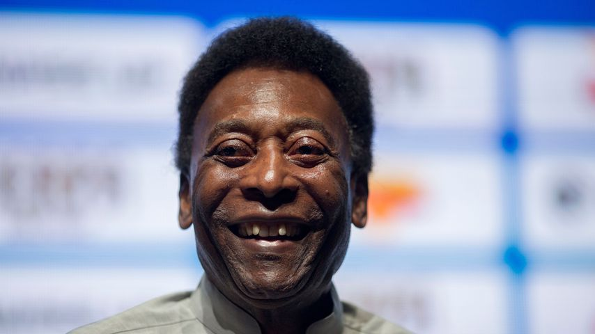 Pelé im Januar 2018
