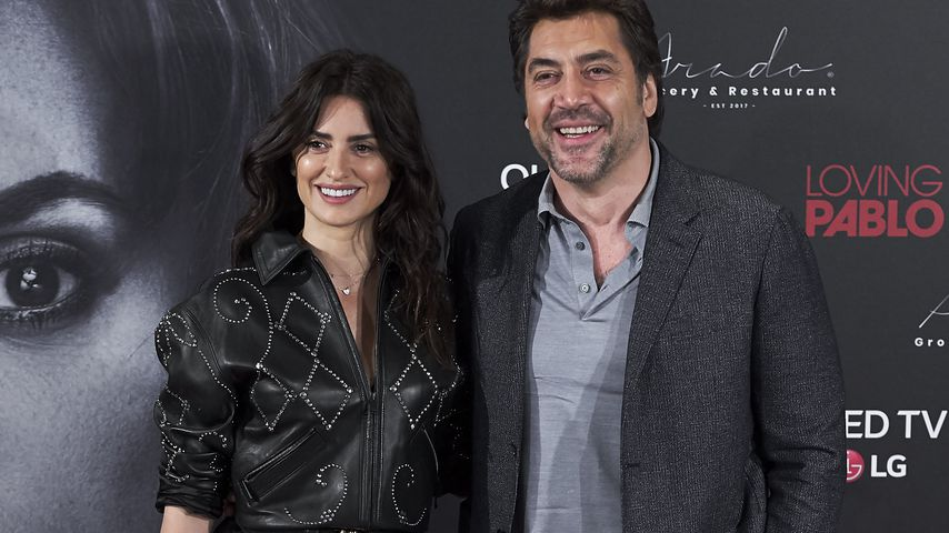 """Penelope Cruz und Javier Bardem beim Photocall von """"Loving Pablo"""" in Madrid"""