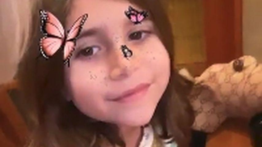 Kourtney Kardashians Tochter (7) trägt Mantel für 1.350 Euro