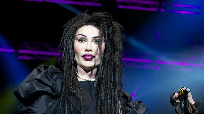 Pete Burns in London