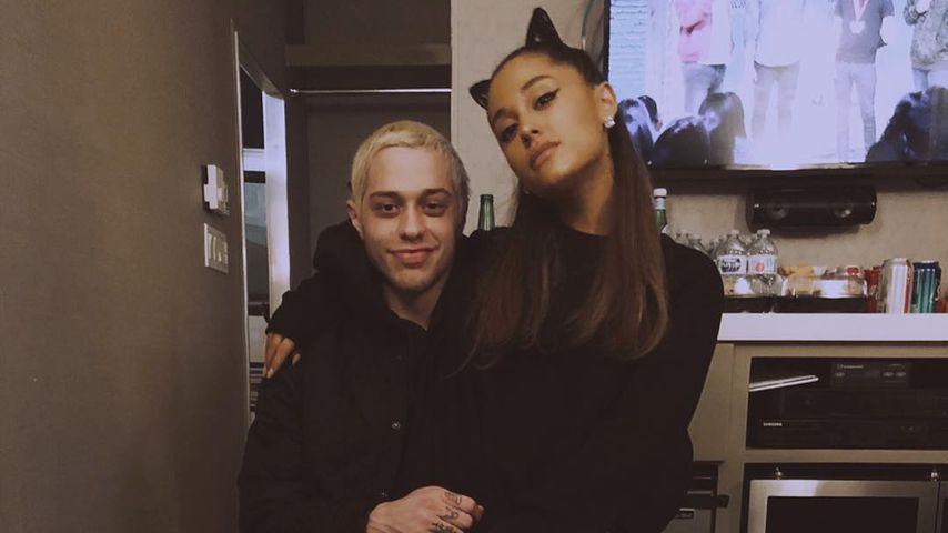 Pete Davidson und Ariana Grande im Juli 2018