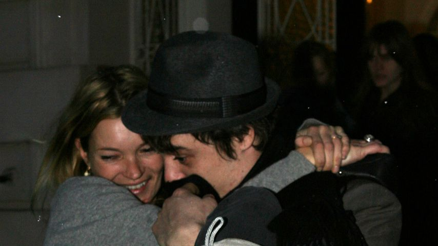 Kate Moss und Pete Doherty in London, 2007