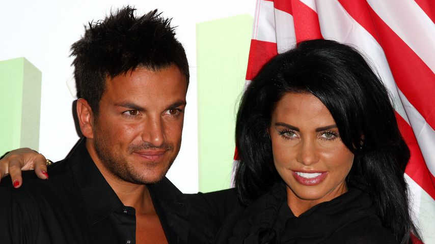 Peter Andre und Katie Price 2009 in London