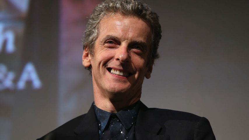 "Peter Capaldi bei der Premiere von ""Doctor Who"" in London 2014"