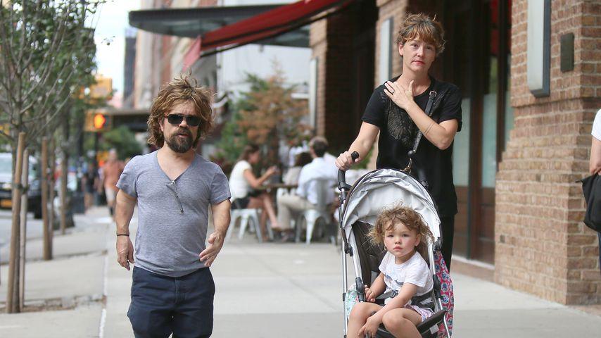 Peter Dinklage, Erics Schmidt und Tochter in New York