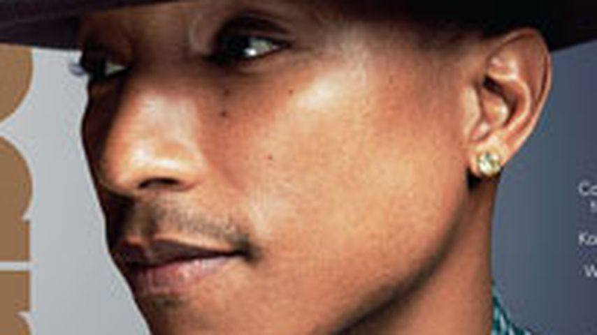 Happy News: Pharrell Williams' Hut wird Cover-Star