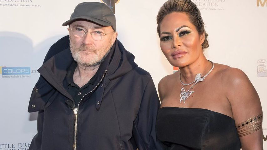 Phil Collins und seine Ex-Frau Orianne Cevey im Januar 2019