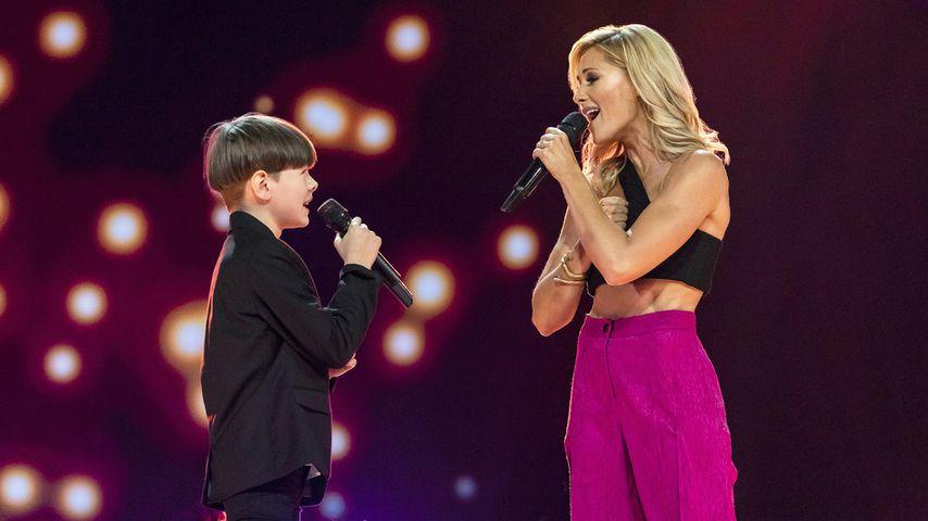 """""""The Voice Kids""""-Star Philias begeistert bei Helene Fischer!"""