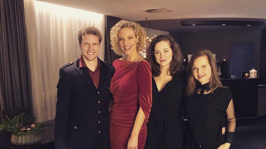 "Philip Butz, Melanie Wiegmann, Christin Balogh & Bojana Golenac bei der ""Kinky Boots""-Premiere"