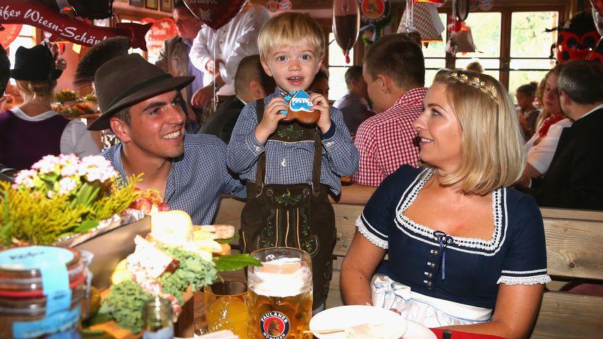 Philipp Lahm, Claudia Lahm und Julian Lahm