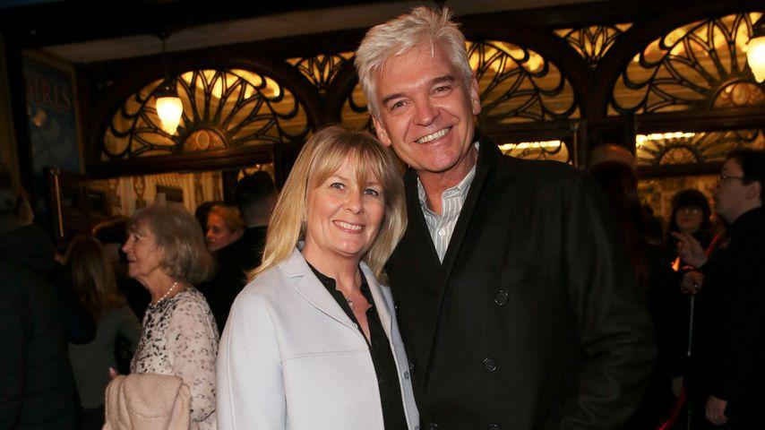 Phillip Schofield mit seiner Frau Stephanie, 2020