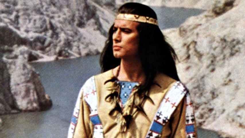 Pierre Brice in seiner Rolle als Winnetou