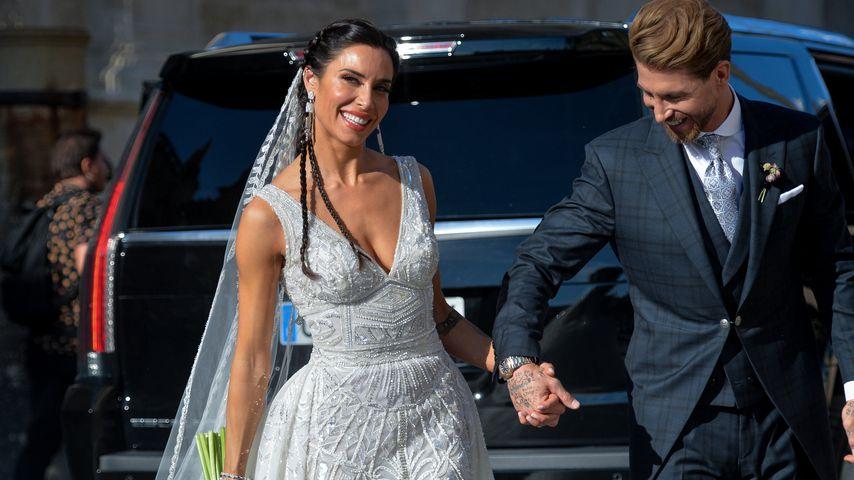 Pilar Rubio und Sergio Ramos bei ihrer Hochzeit 2019