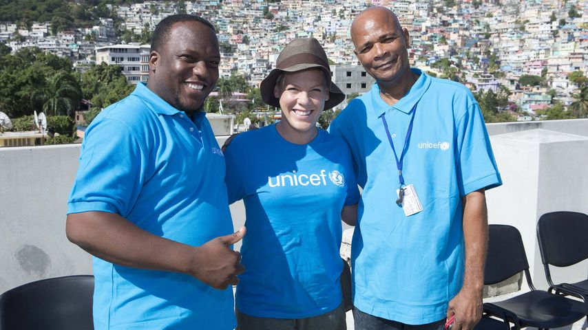 Gegen Mangelernährung: Pink ist jetzt UNICEF-Botschafterin