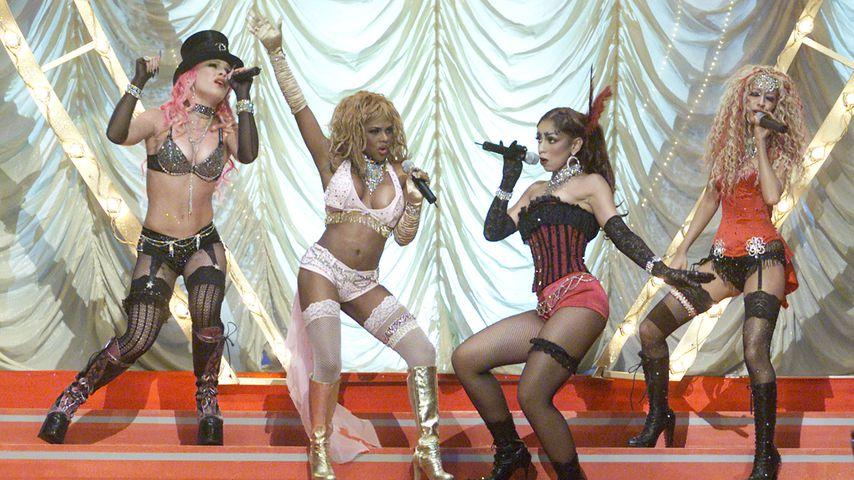 Pink, Missy Elliott, Mya und Christina Aguliera