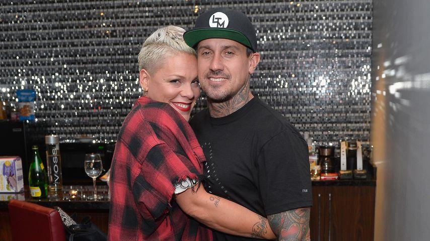 Pink und Carey Hart in Las Vegas
