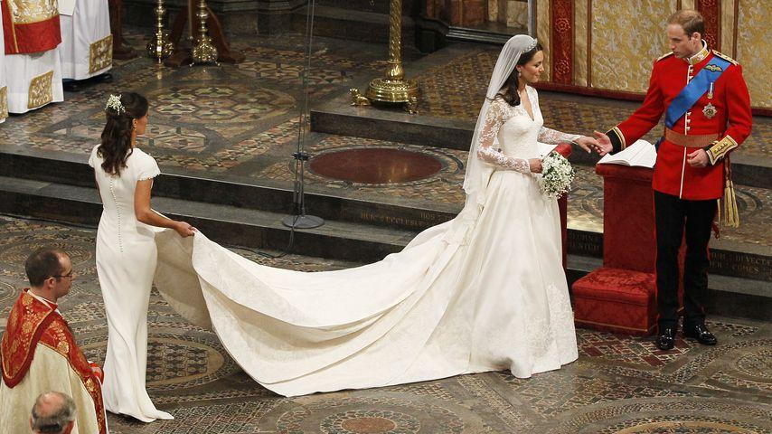 Pippa Middleton: So könnte die Hochzeit mit James werden!