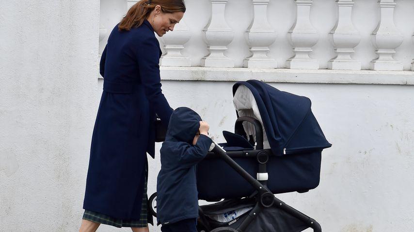 Pippa Middleton mit ihren beiden Kids in London