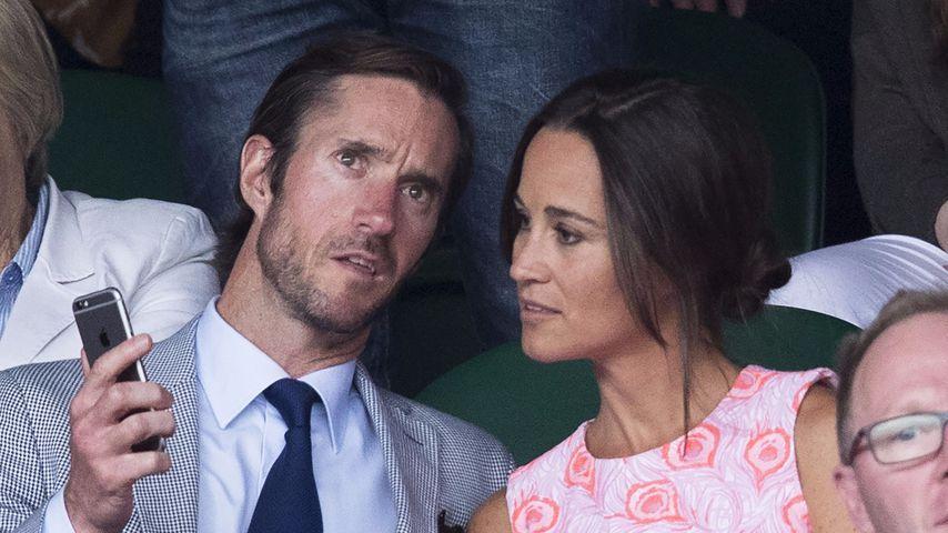 James Matthews und Pippa Middleton beim Wimbledon-Spiel