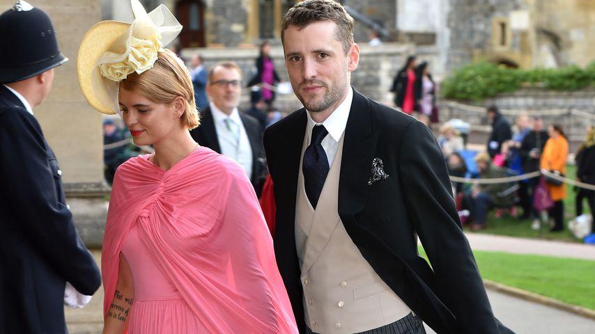 Pixie Geldof und ihr Mann George Barnett  im Oktober 2018