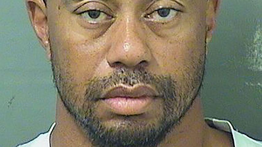 Polizeifoto von Tiger Woods, entstanden bei seiner Festnahme in Florida 2017