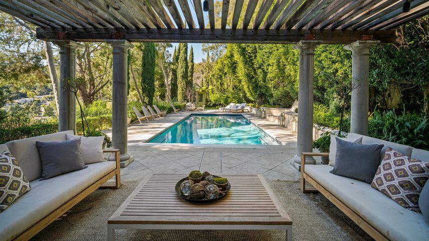 Pool-Bereich von Prinz Harry und Herzogin Meghans möglicher Villa