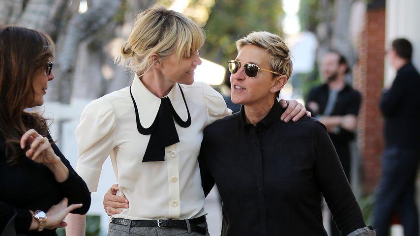Portio De Rossi und Ellen DeGeneres in Los Angeles