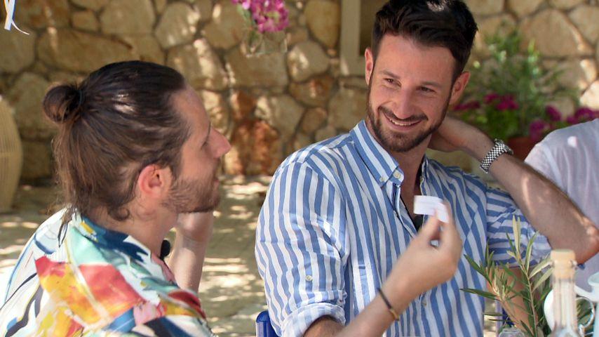 """""""Prince Charming""""-Kandidat Gino beim Gruppen-Date mit Alex"""