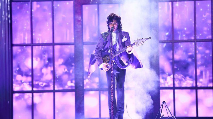 "Prince Damien als Prince bei ""Big Performance"""