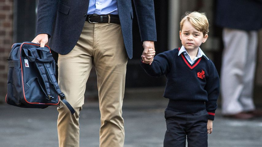 Einbruch an Prinz Georges Schule: Es war ein mega Royal-Fan!
