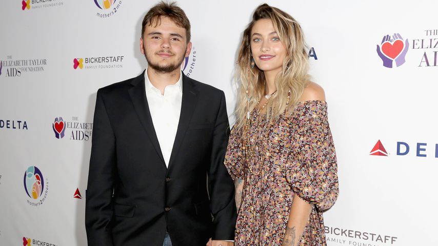 Prince und Paris Jackson beim Aids Foundation Benefit Dinner