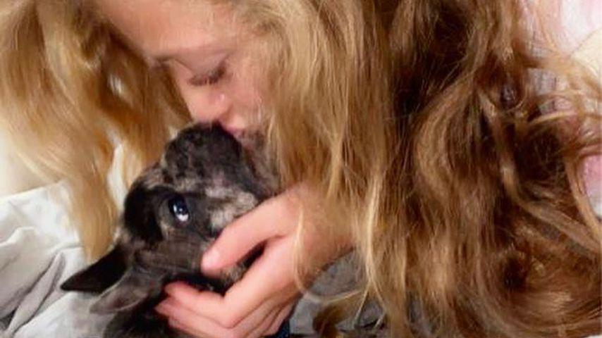 Princess Tiaamii und ihr Hund Rolo, Juli 2020