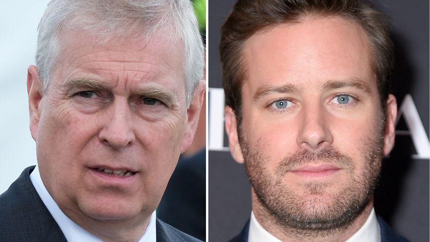 Sex-Skandal: Prinz Andrew engagiert Armie Hammers Anwalt
