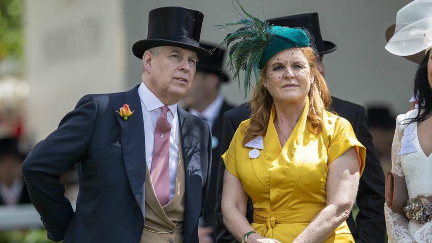 Bald Großeltern: Sarah Ferguson und Prinz Andrew überwältigt