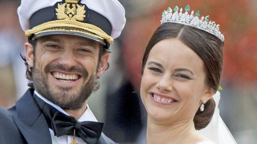 Die Braut-Bilder: Sofia Hellqvist strahlt im Hochzeitskleid