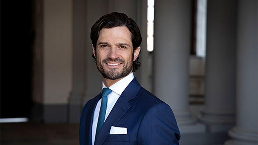 Prinz Carl Philip von Schweden an seinem 40. Geburtstag