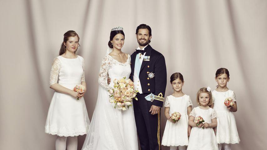 Prinz Carl Philip von Schweden, Prinzessin Estelle von Schweden und Sofia Hellqvist