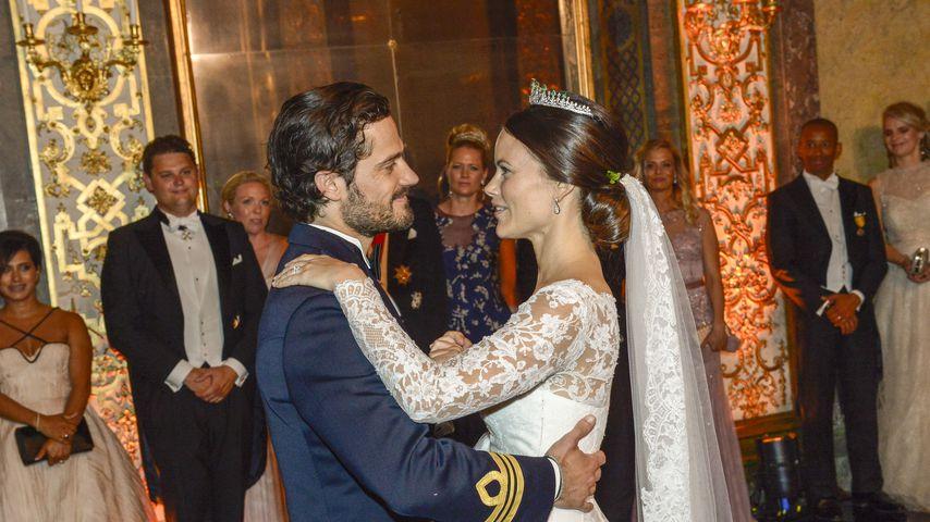 Prinz Carl Philip von Schweden und Prinzessin Sofia von Schweden im Juni 2015 in Stockholm