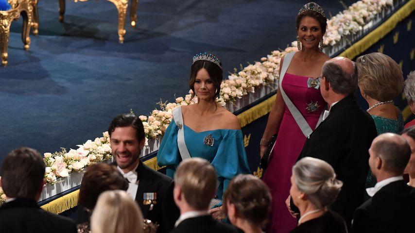 Prinz Carl Philip, Prinzessin Sofia und Prinzessin Madeleine von Schweden