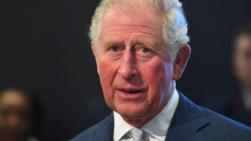 Prinz Charles bei einem Museumsbesuch in London im März 2020