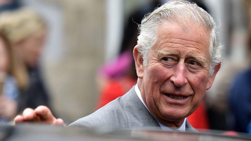 Prinz Charles bei einem Besuch in Nordirland