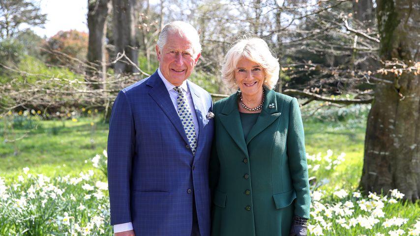 Prinz Charles und Herzogin Camilla im April 2019