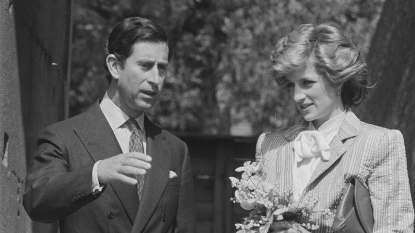 Prinz Charles und Prinzessin Diana, April 1985