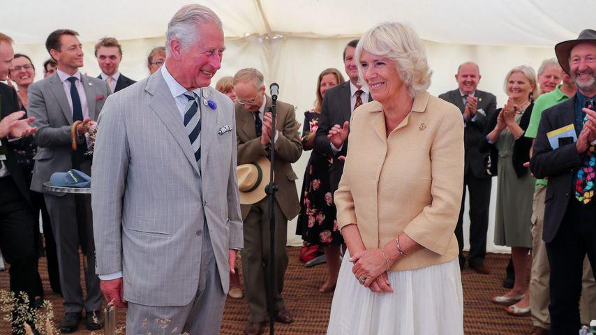 Prinz Charles und Camilla Parker im Juli 2019 in Cornwall