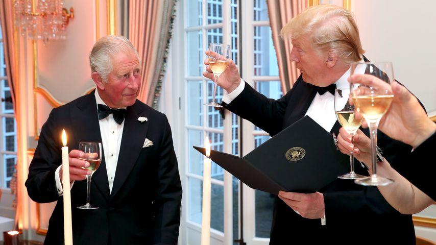 Prinz Charles und Donald Trump im Juni 2019 in London